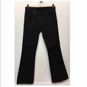 Calvin Klein Jeans | Black Denim Flare Jeans EUC